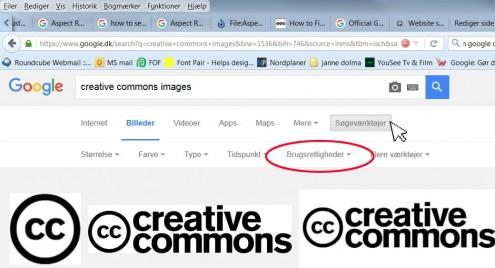 """Klik på """"søgeværktøjer"""" og derefter på brugerrettigheder"""