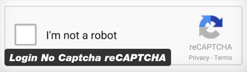 login recapcha