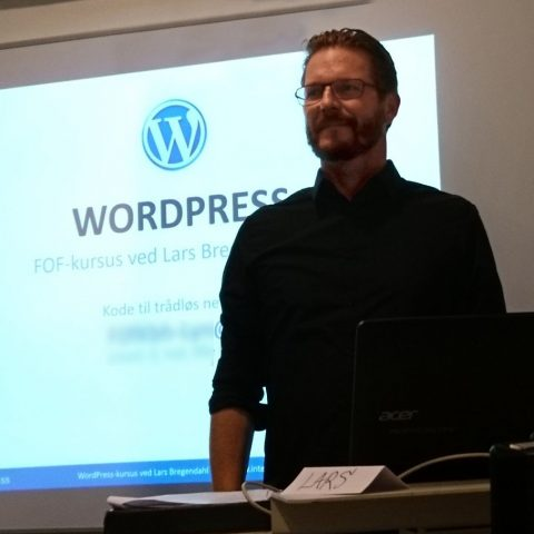 Lars Bregendahl Bro - WordPress kursus København -