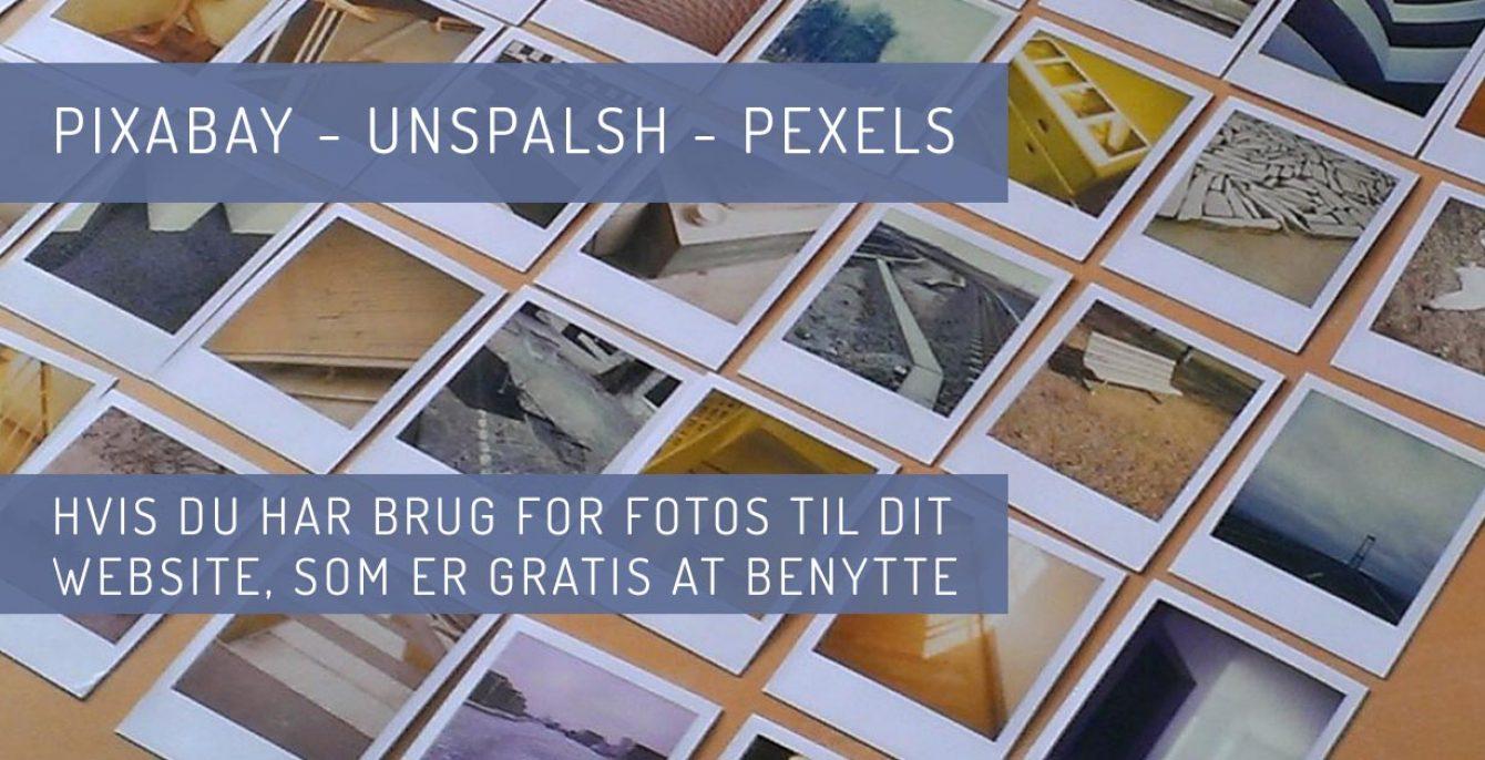 Gratis billeder til din Wordpress hjemmeside